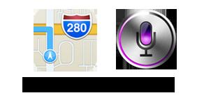 Apple Maps - Siri
