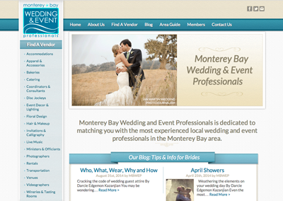 Monterey Bay Wedding and Event Professionals