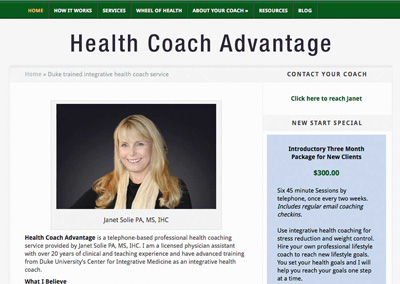 Health Coach Advantage