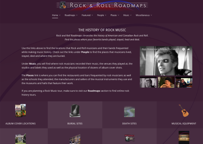 Rock and Roll Roadmaps