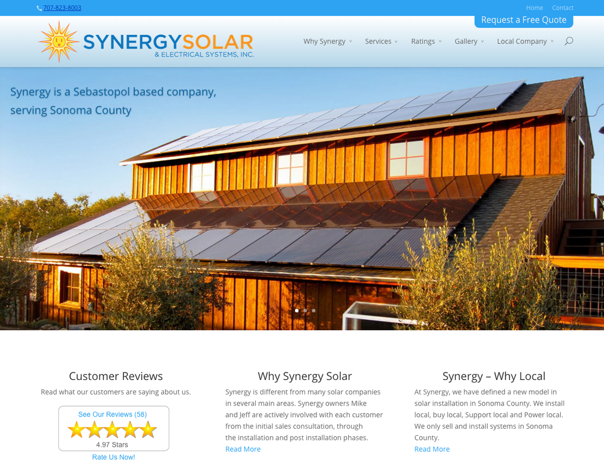 Synergy Sola & Electrical Systems, Inc.