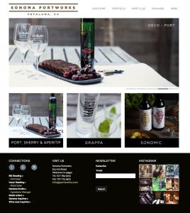 Sonoma Portworks Website