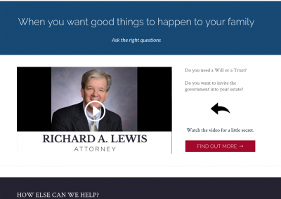 Richard A. Lewis, Attorney At Law