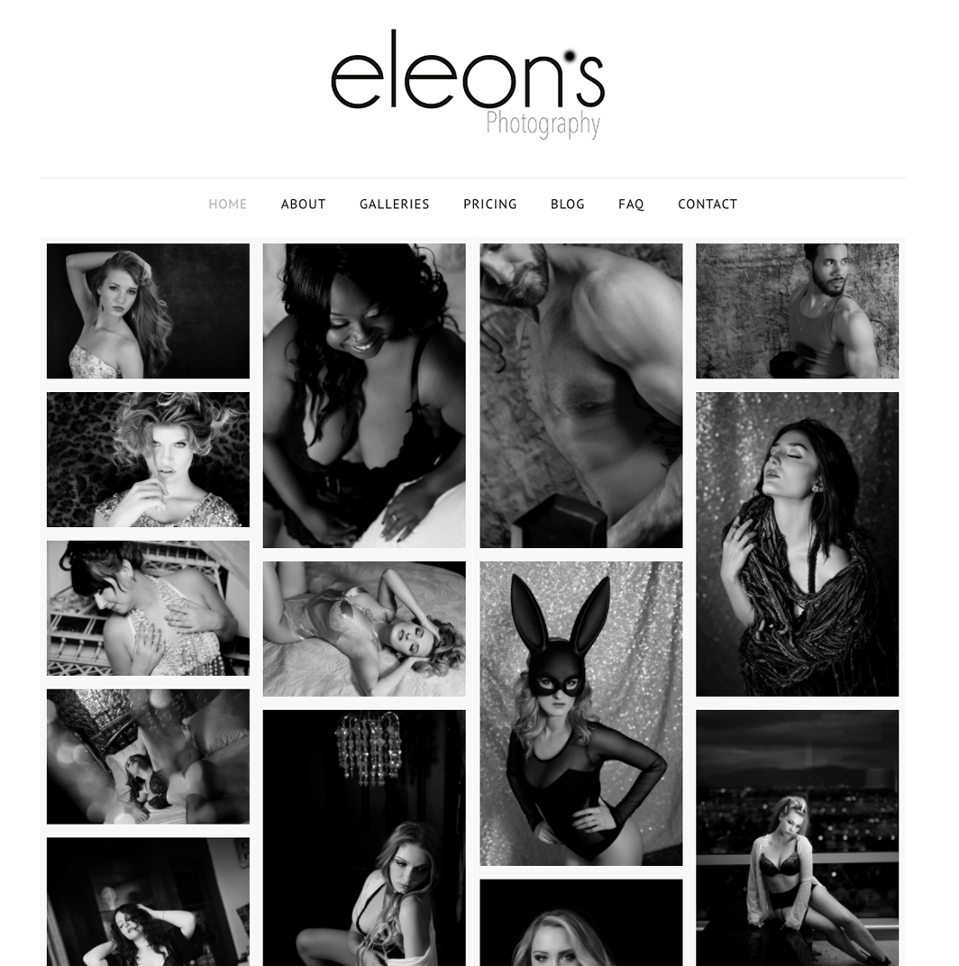 Eleons Boudoir, Glamour And Fitness Photography
