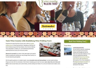 Wine Country Walking Tours