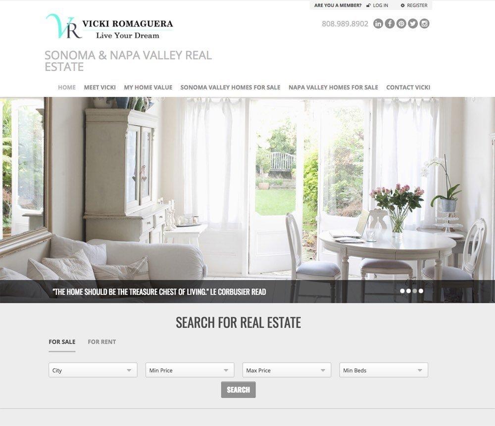 Vicki Romaguera – Sonoma County Real Estate Agent