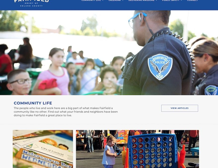 City of Fairfield, CA Community Website