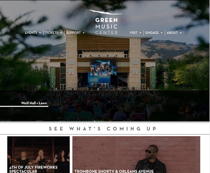 Green Music Center At Sonoma State University