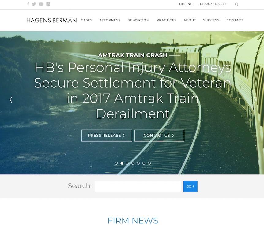 Hagens Berman Website