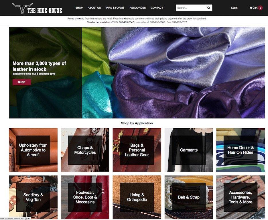 The Hide House Web Site