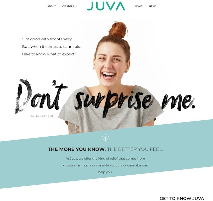JuvaLife Home Page