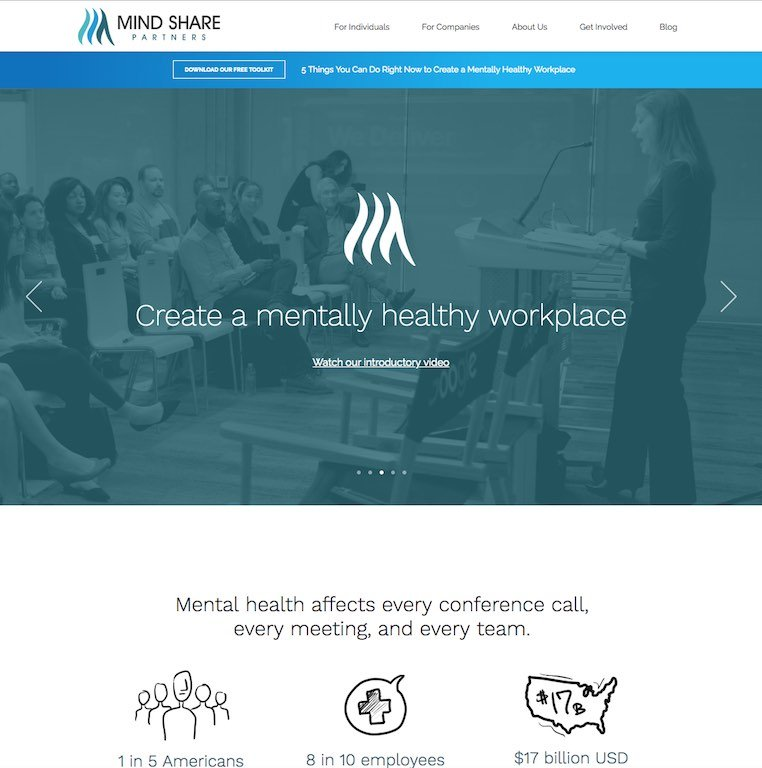 Mind Share Partners Website