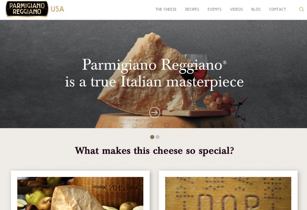 Pamigiano Reggiano Home Page