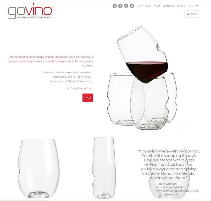 govino Website